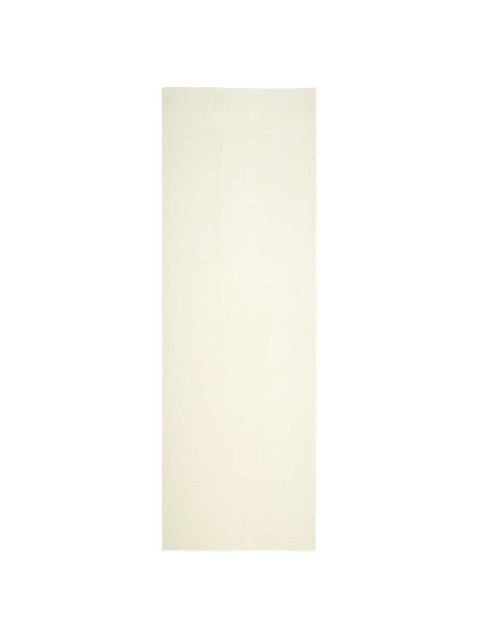 Wollläufer Ida in Beige, Flor: 100% Wolle, Beige, 80 x 250 cm