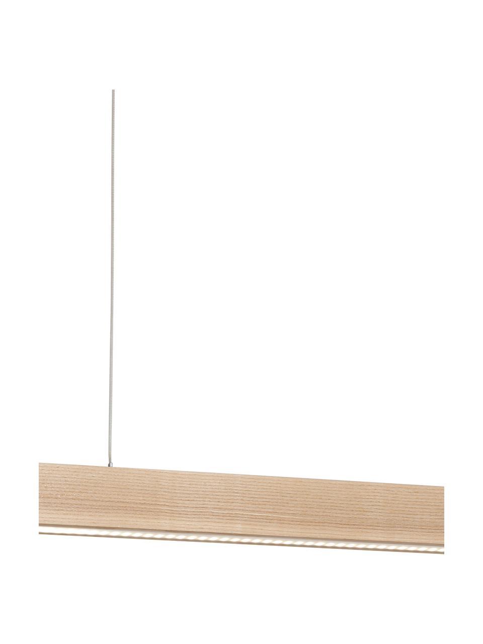 Lampada a sospensione a LED in legno Timber, Paralume: legno, Baldacchino: legno, Legno, Larg. 65 x Alt. 9 cm