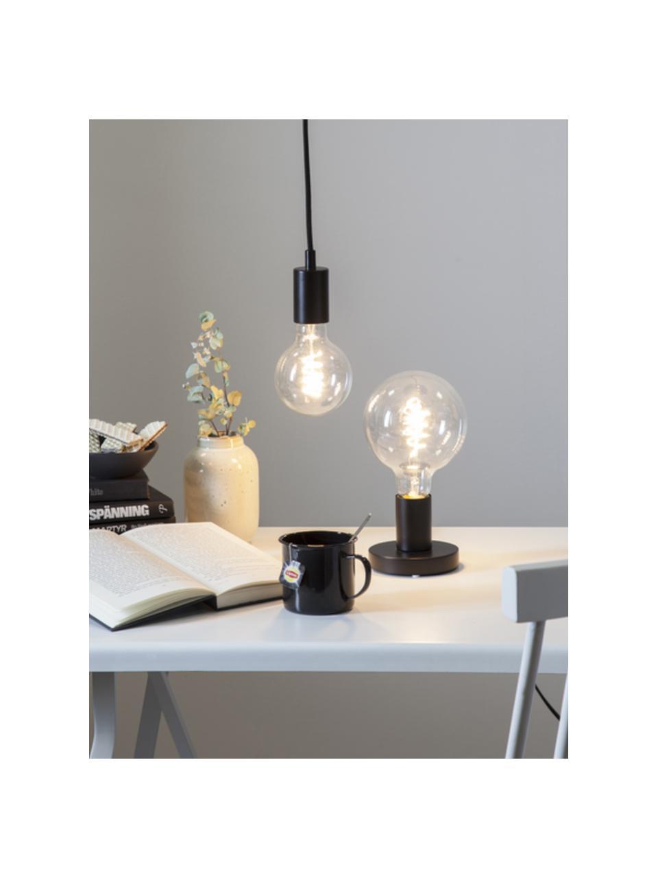 E27 Leuchtmittel, 270lm, dimmbar, warmweiß, 1 Stück, Leuchtmittelschirm: Glas, Leuchtmittelfassung: Aluminium, Transparent, Ø 10 x H 14 cm