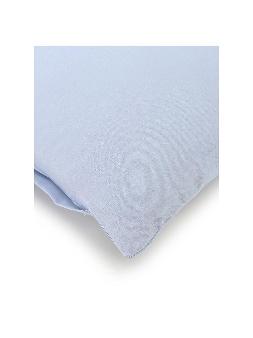 Pościel z bawełny Weekend, Jasny niebieski, 200 x 200 cm + 2 poduszki 80 x 80 cm
