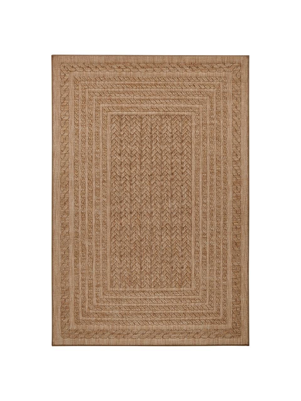 In- & Outdoor-Teppich Limonero in Jute Optik, 100% Polypropylen, Beige, Braun, B 160 x L 230 cm (Größe M)