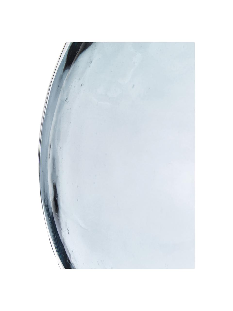 Bodenvase Drop aus recyceltem Glas, Recyceltes Glas, Blau, Ø 40 x H 56 cm