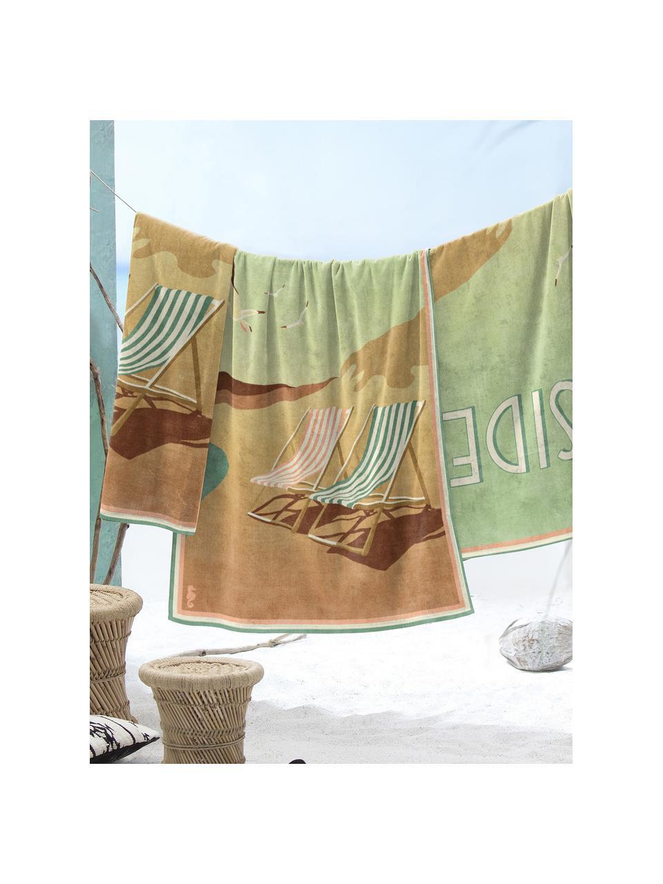 Ręcznik plażowy Blackpool, Wielobarwny, S 90 x D 170 cm