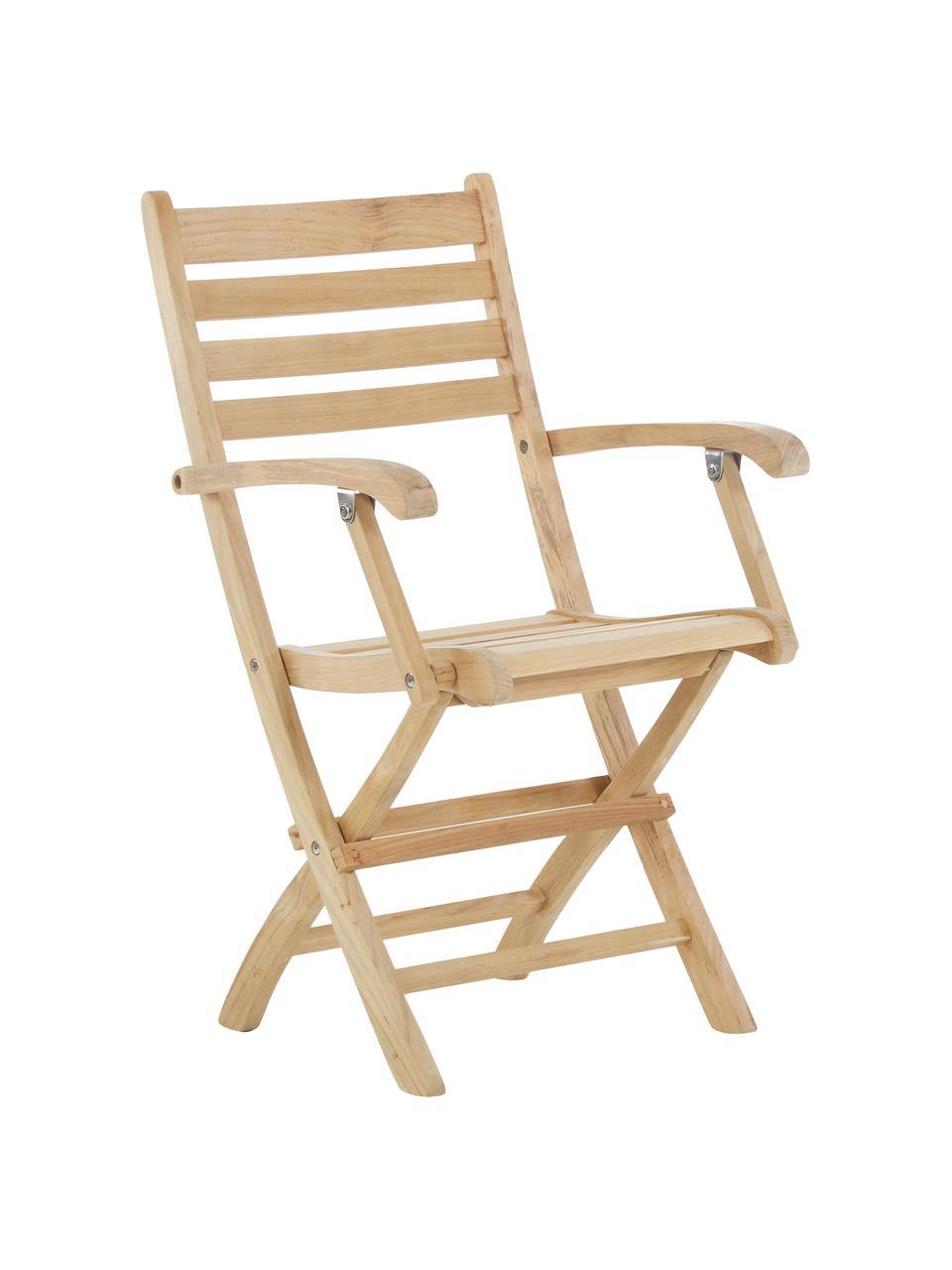 Dřevěná zahradní židle York, Teakové dřevo