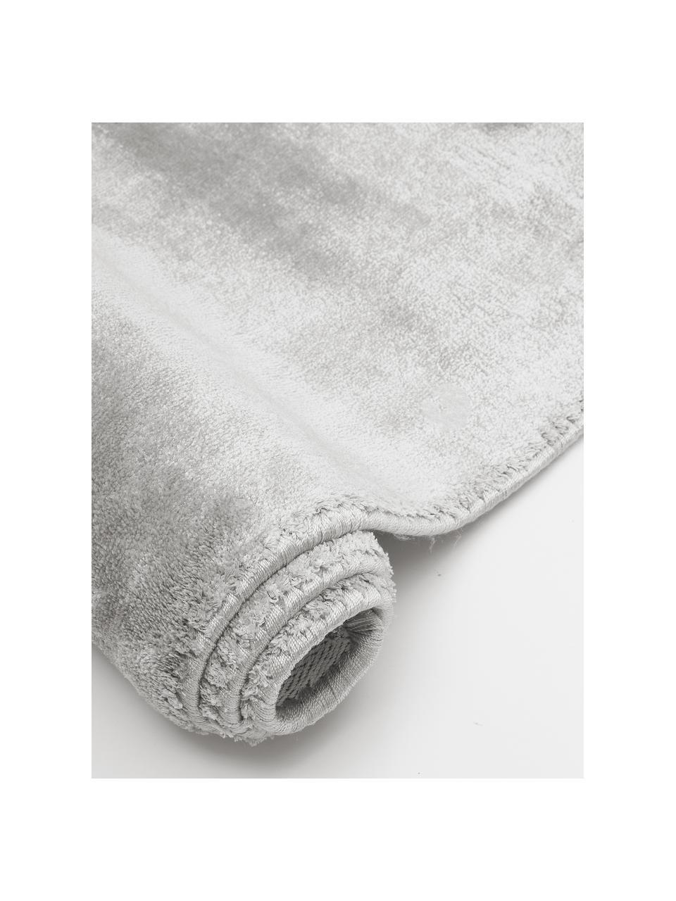 Miękki dywan z wiskozy premium z połyskiem Grace, Szary, S 200 x D 300 cm (Rozmiar L)