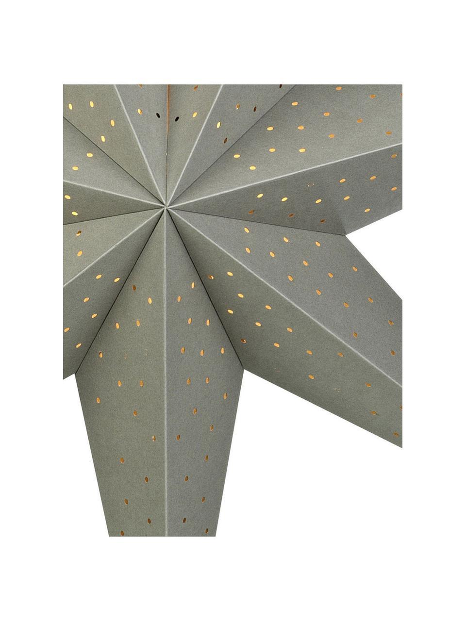 Weihnachtsstern Morris Ø 75 cm, mit Stecker, Grau, Ø 75 cm