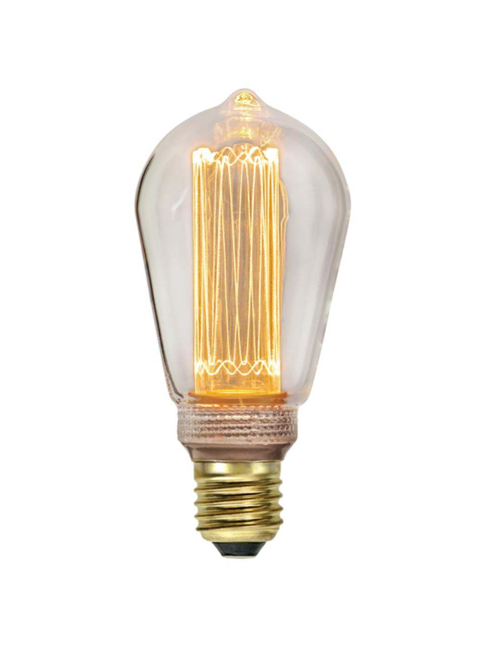 Lampadina E27, 2,5W, dimmerabile, bianco caldo 1 pz, Lampadina: vetro, Trasparente, Ø 6 x Alt. 15 cm