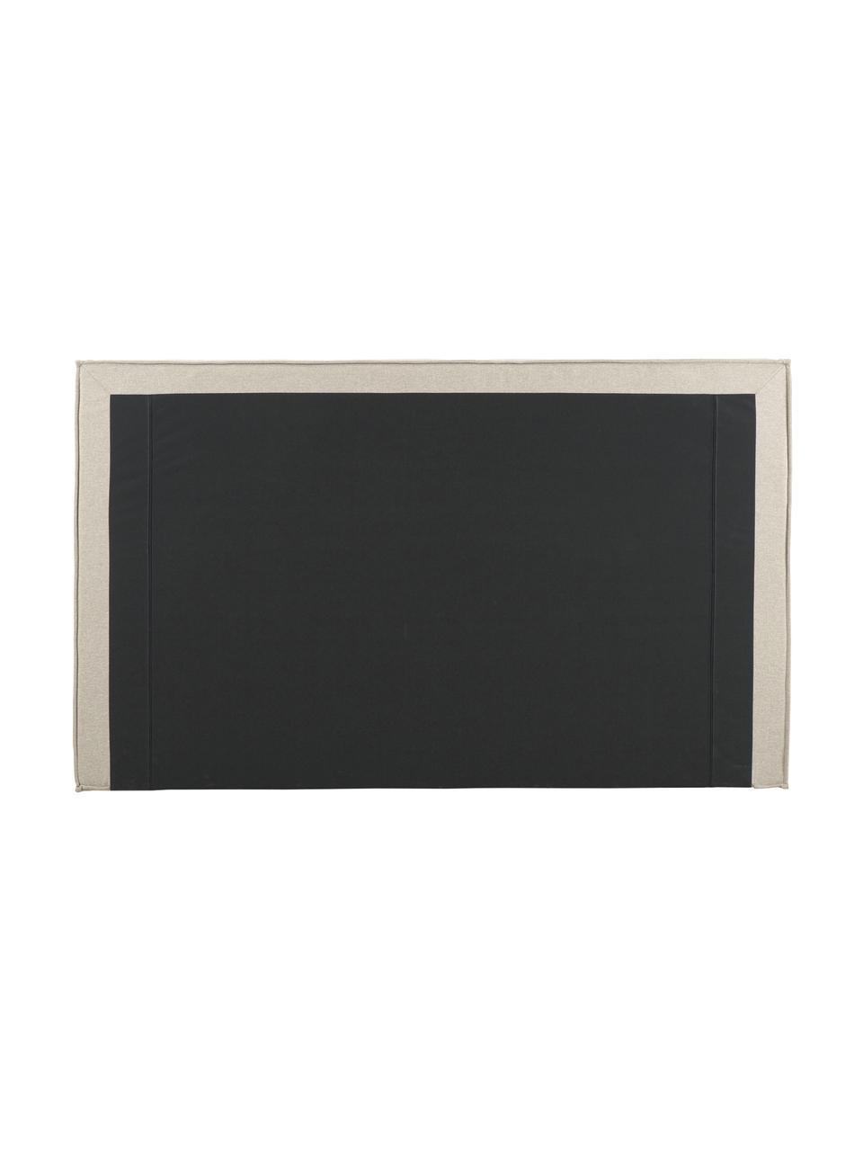 Letto imbottito in tessuto beige scuro con contenitore Dream, Rivestimento: 100% poliestere Il rivest, Tessuto taupe, 180 x 200 cm