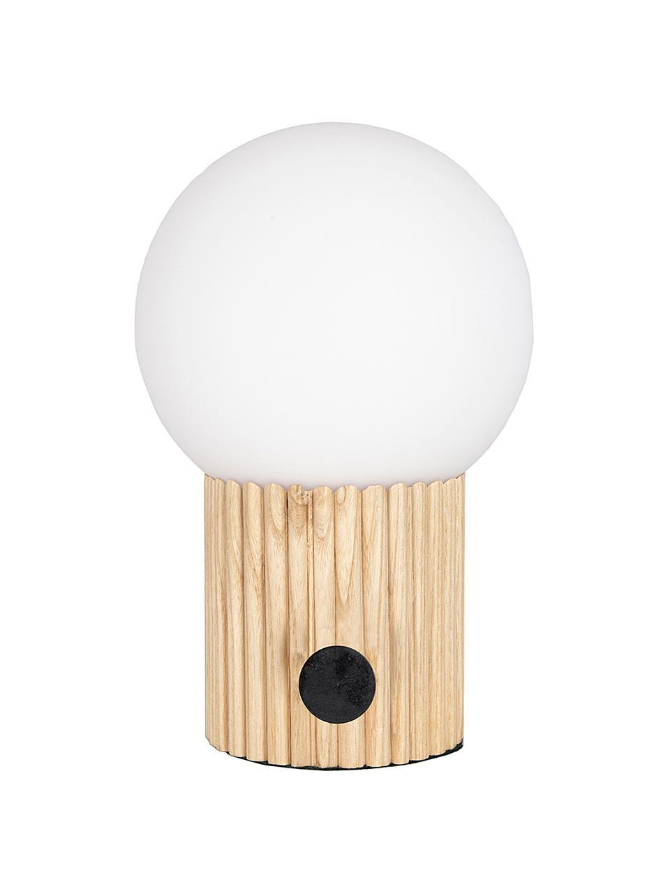 Lampe à poser design Hubble, Beige, blanc