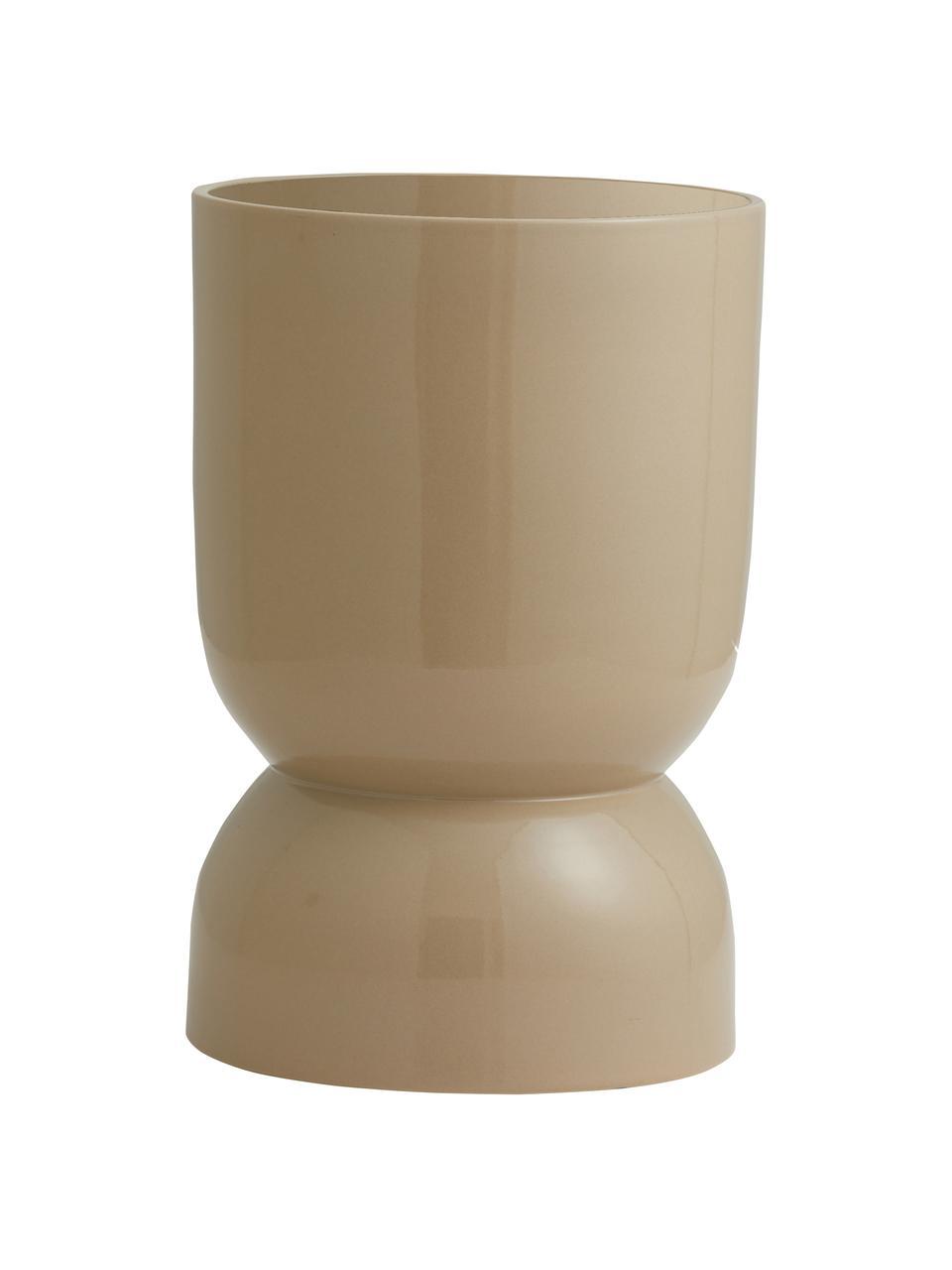 Grand cache-pot céramique Ajon, Beige