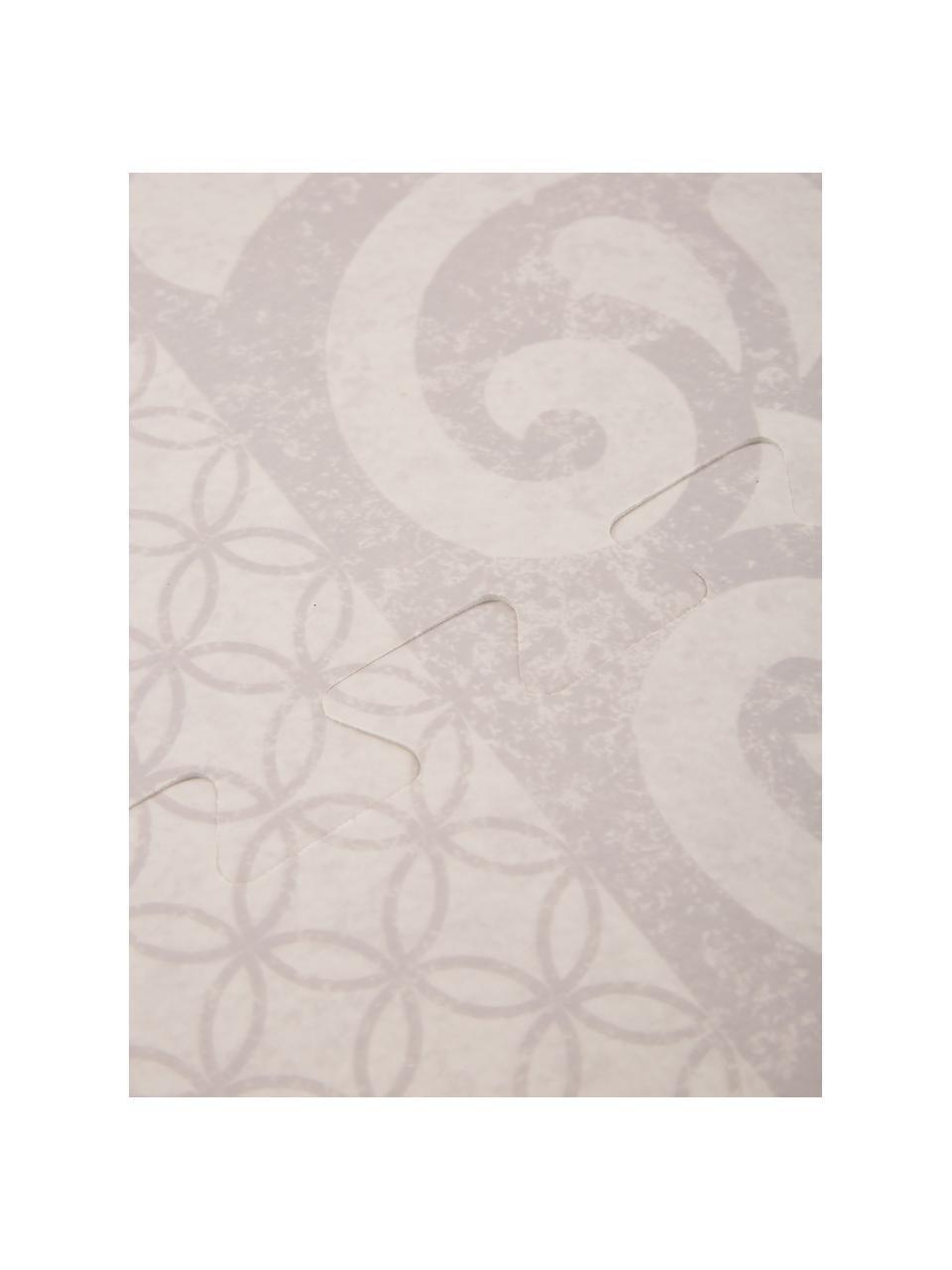 Erweiterbares Spielmatten-Set Tiles, 18-tlg., Schaumstoff (EVAC), schadstofffrei, Beige, 120 x 180 cm