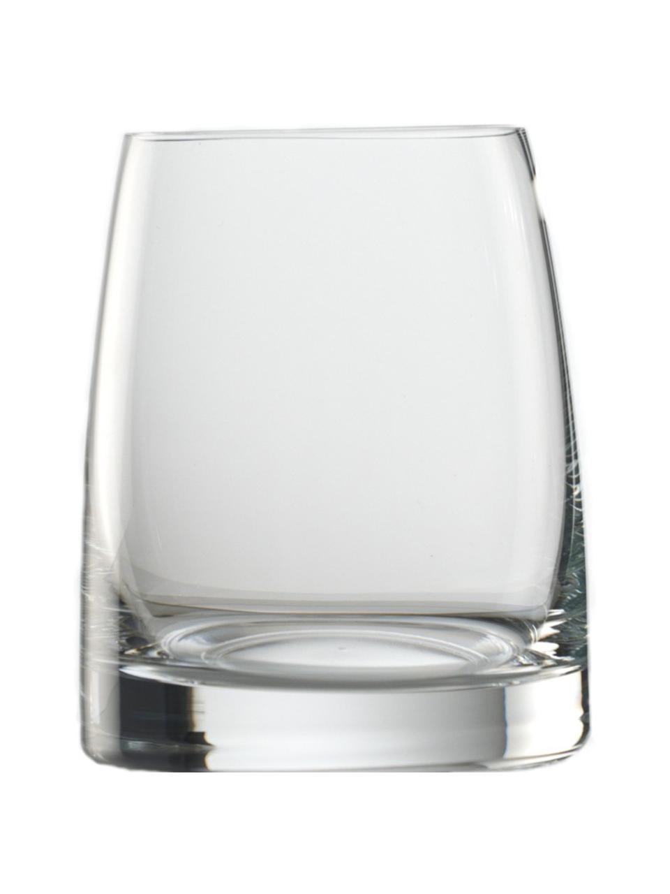 Kristallen waterglazenset Experience, 6-delig, Kristalglas, Transparant, Ø 8 x H 9 cm