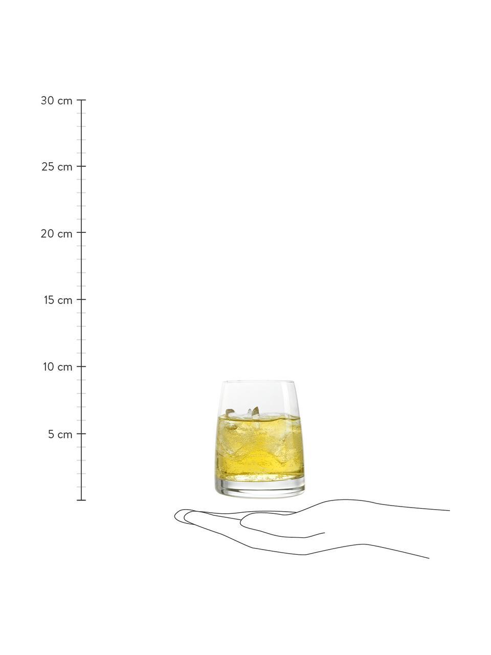 Bicchiere acqua in cristallo Experience 6 pz, Cristallo, Trasparente, Ø 8 x Alt. 9 cm