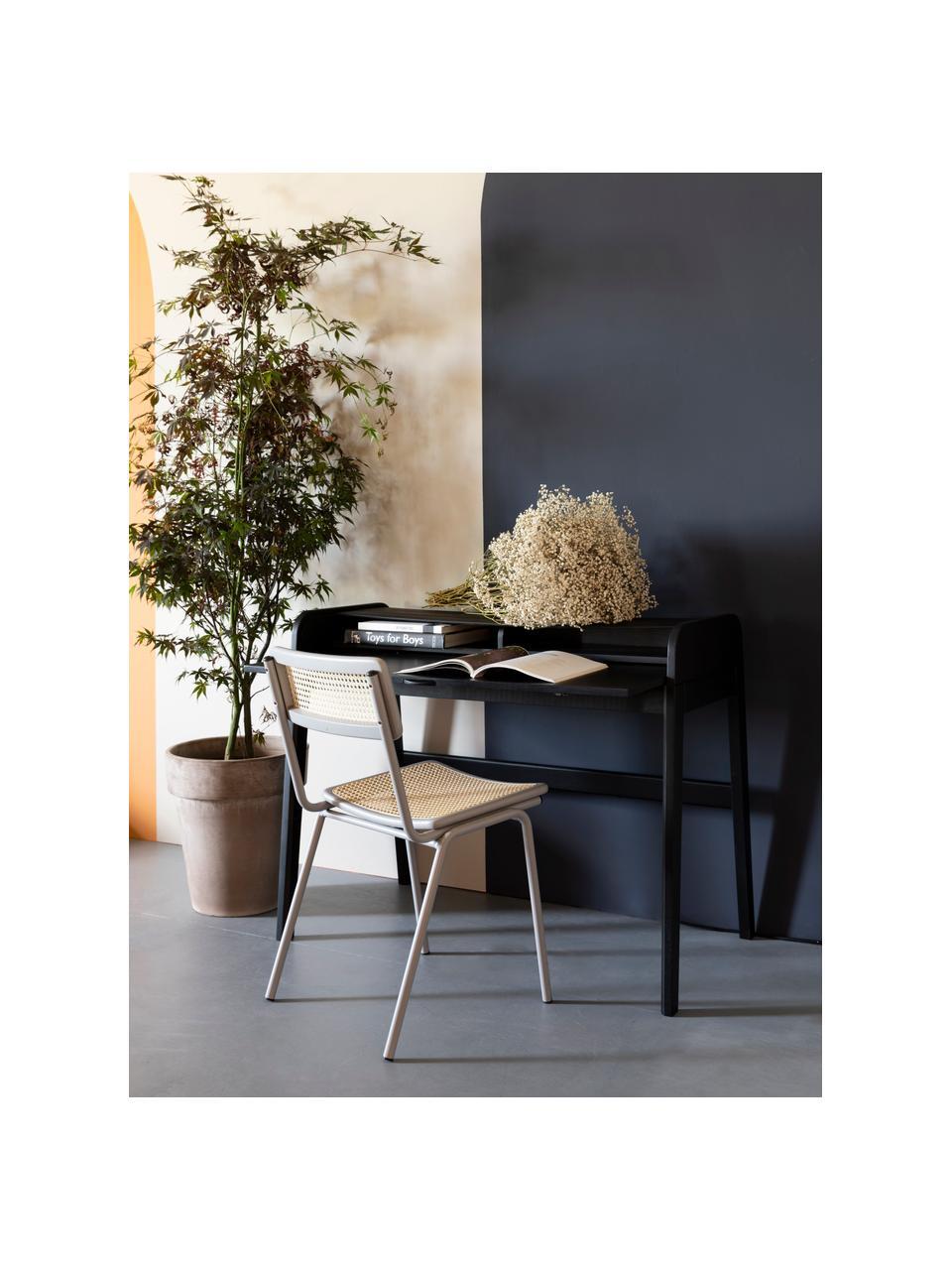Bureau bois noir Barbier, Noir