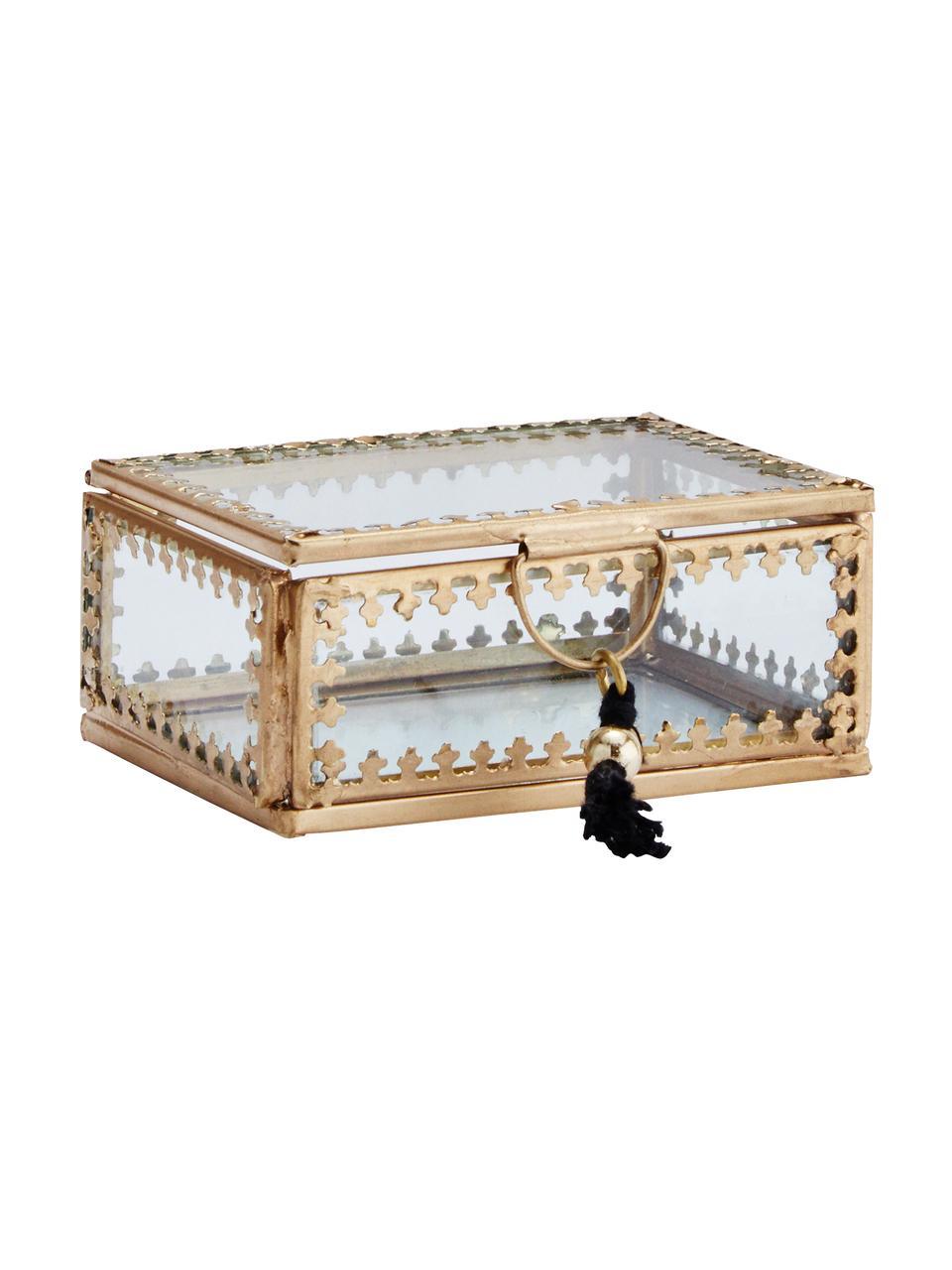 Caja Tinka, Latón, An 9 x Al 4 cm