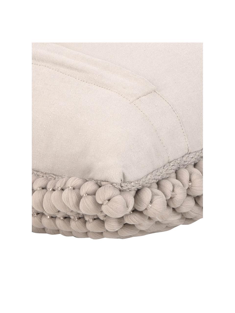 Poszewka na poduszkę Iona, Beżowy, S 45 x D 45 cm