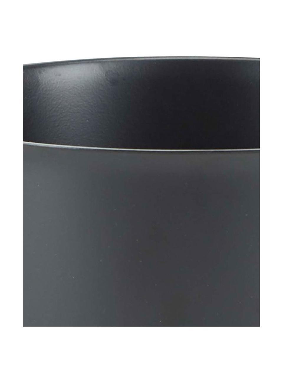 Rührschüssel Mixa in Schwarz, Edelstahl, beschichtet, Schwarz, Ø 22 x H 14 cm
