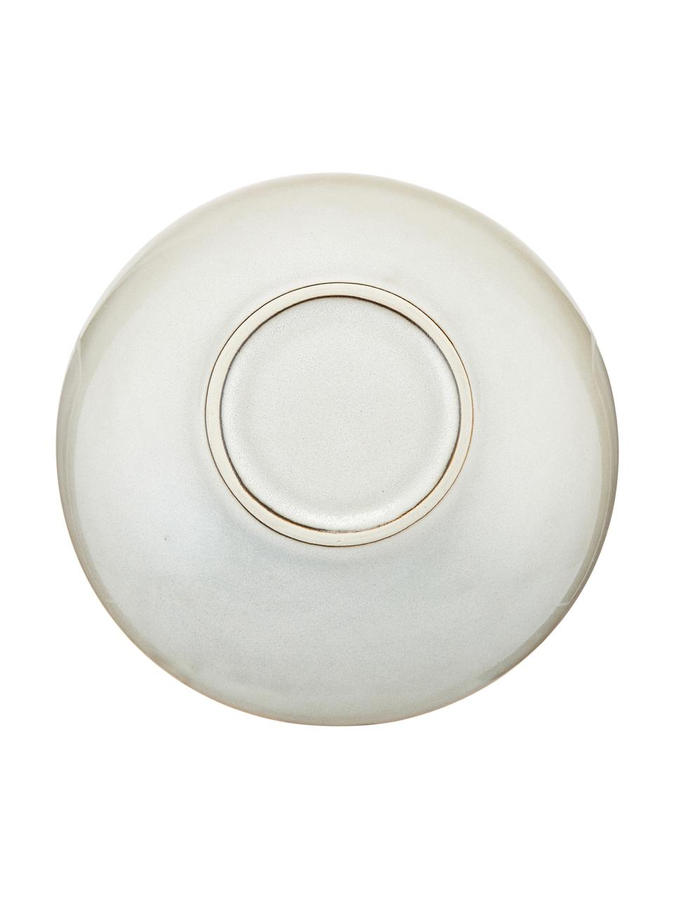 Handgemachte Steingut-Suppenteller Thalia in Beige, 2 Stück, Steingut, Beige, Ø 22 x H 6 cm