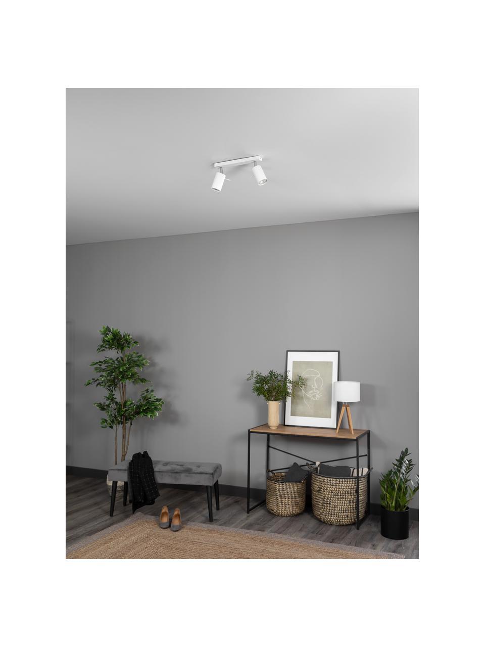 Lampa sufitowa Etna, Biały, S 30 x W 15 cm