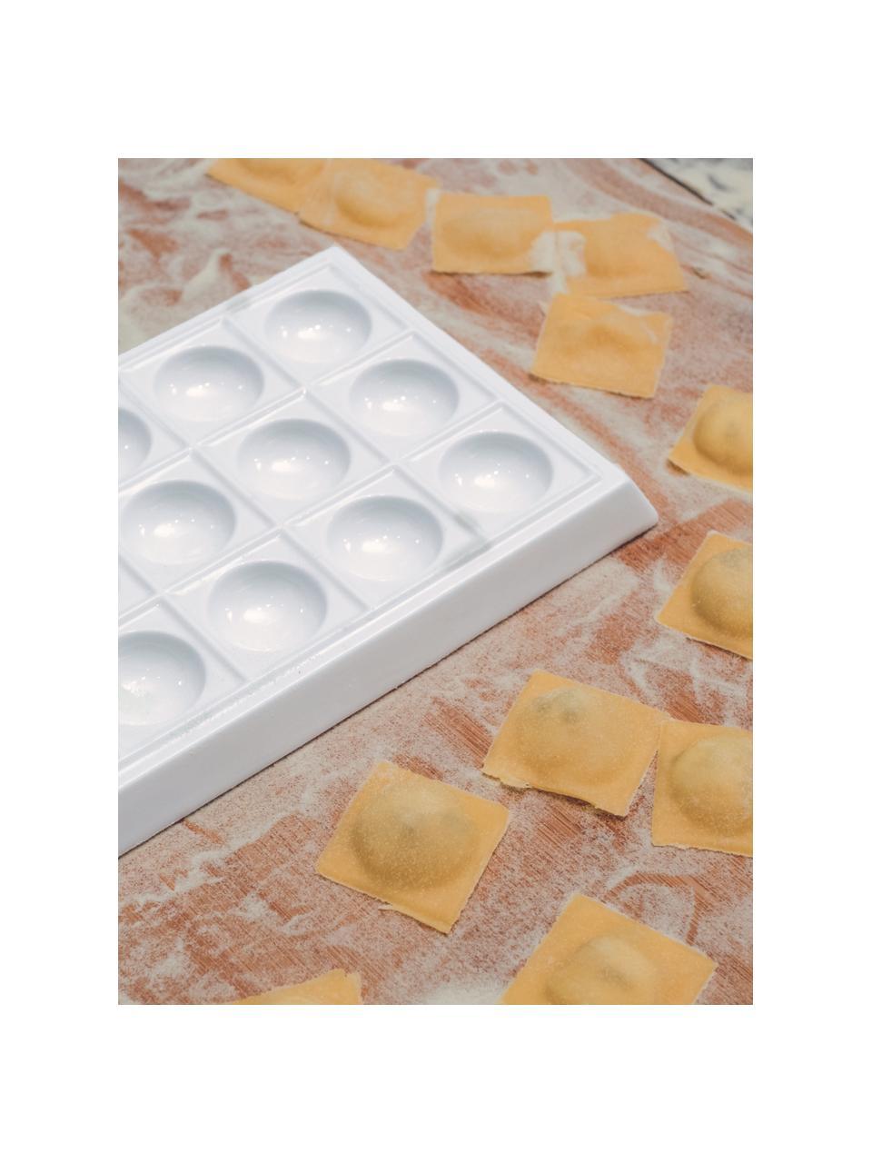 Raviolimaker-Set Plus, 2-tlg., Weiß, B 25 x T 15 cm