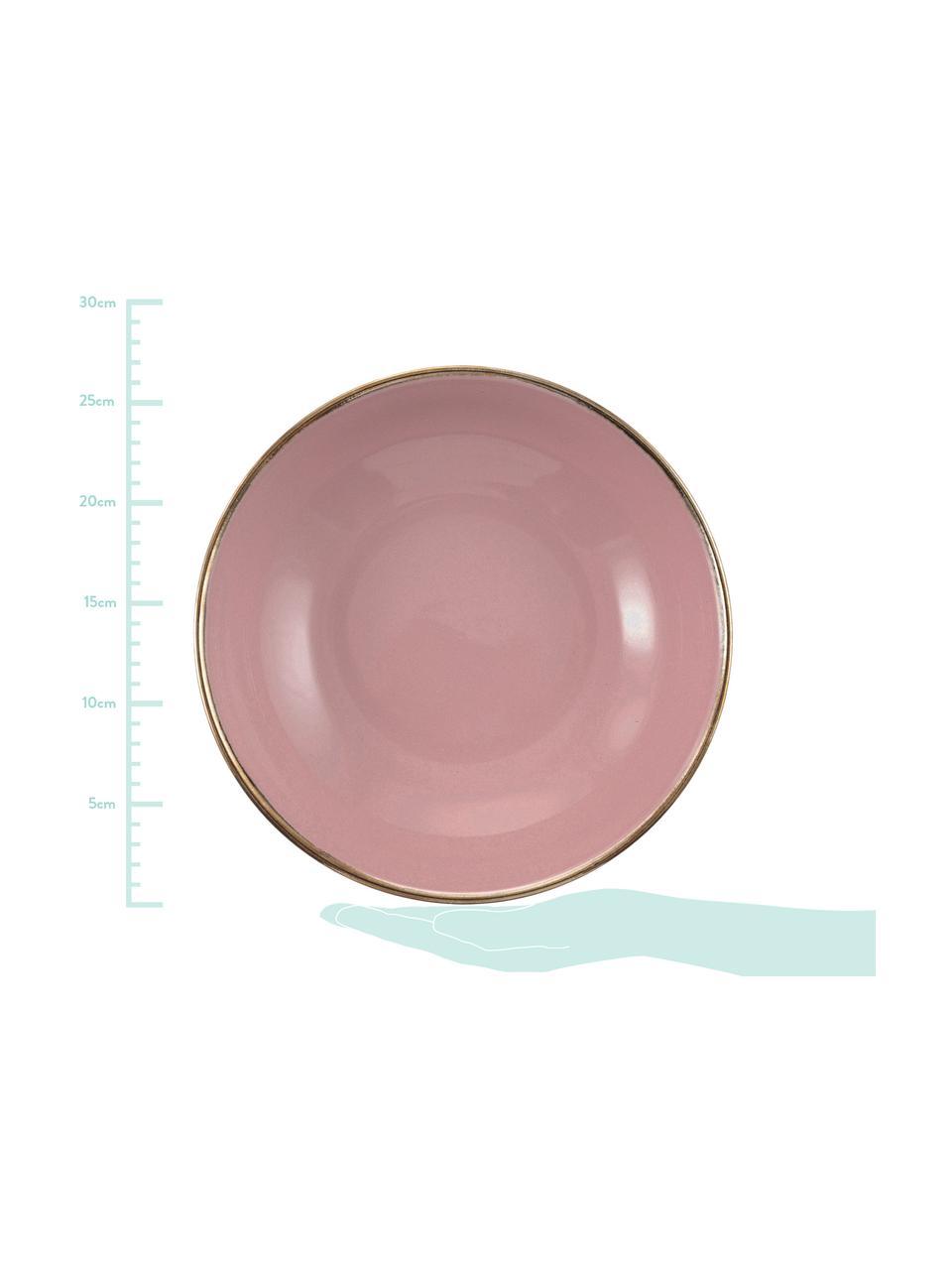 Set di piatti Royal Passion 18 pz, Terracotta, Bordeaux, rosso scuro, blu grigio, rosa, grigio chiaro, grigio scuro, Set in varie misure