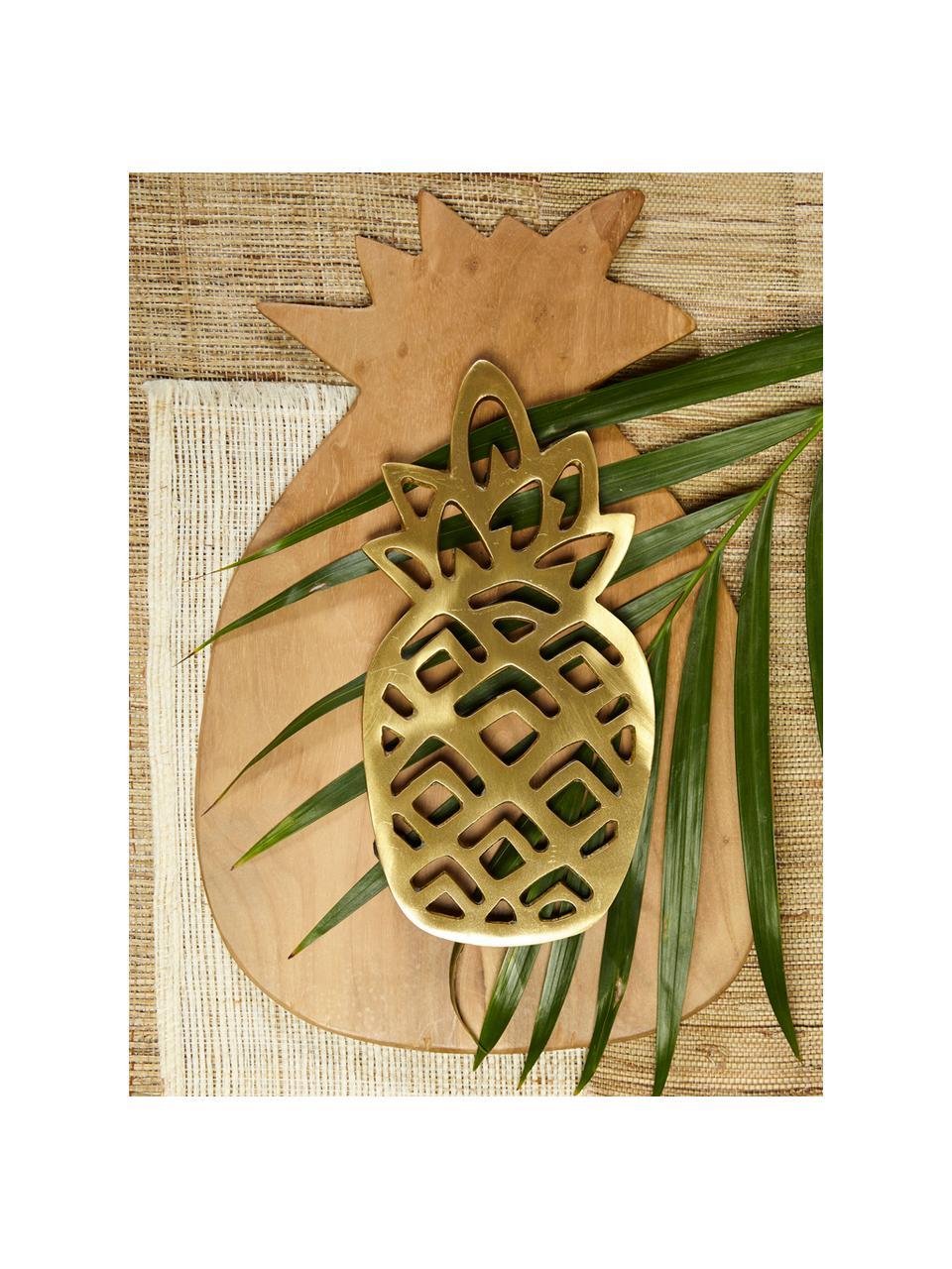 Tagliere in legno di teak Pine, 35x23 cm, Legno di teak, Legno di teak, Lung. 35 x Larg. 23 cm