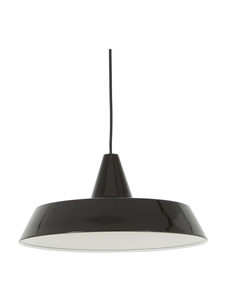 Lampa wisząca w stylu scandi Jubilee, Czarny, Ø 40 x W 20 cm