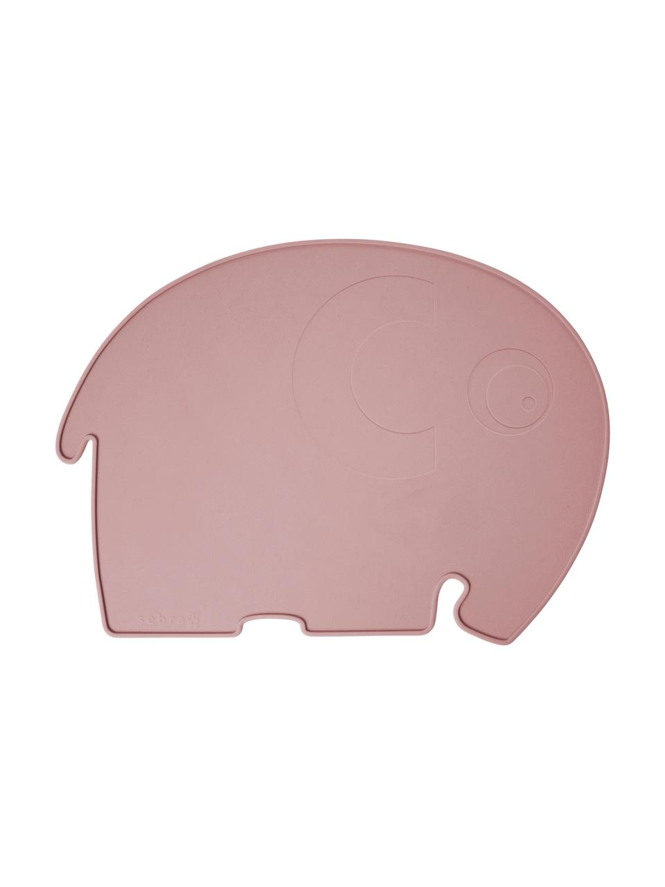 Silikon-Tischset Fanto, Silikon, BPA-frei, Rosa, 43 x 33 cm