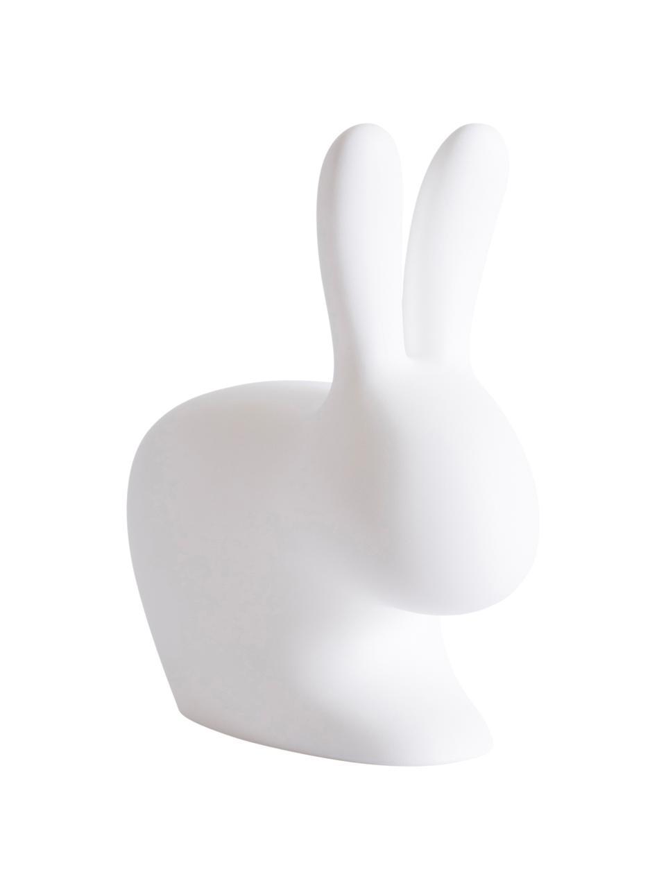 Dimmbare Mobile Tischlampe Rabbit, Leuchte: Kunststoff (Polyethylen), Weiß, 20 x 22 cm