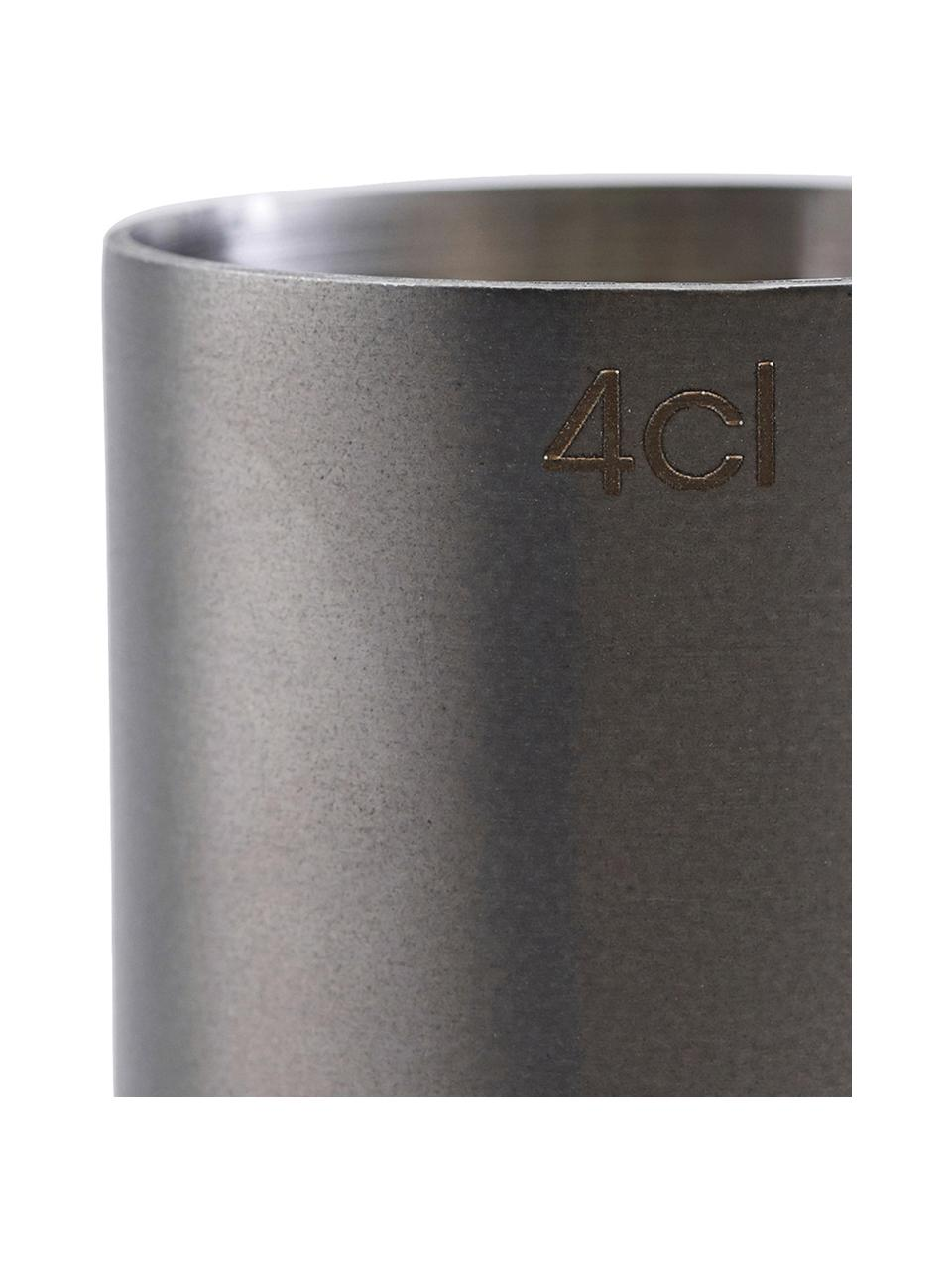 Jigger Gunmetal, Stal szlachetna, powlekana, Antracytowy, Ø 4 x W 9 cm