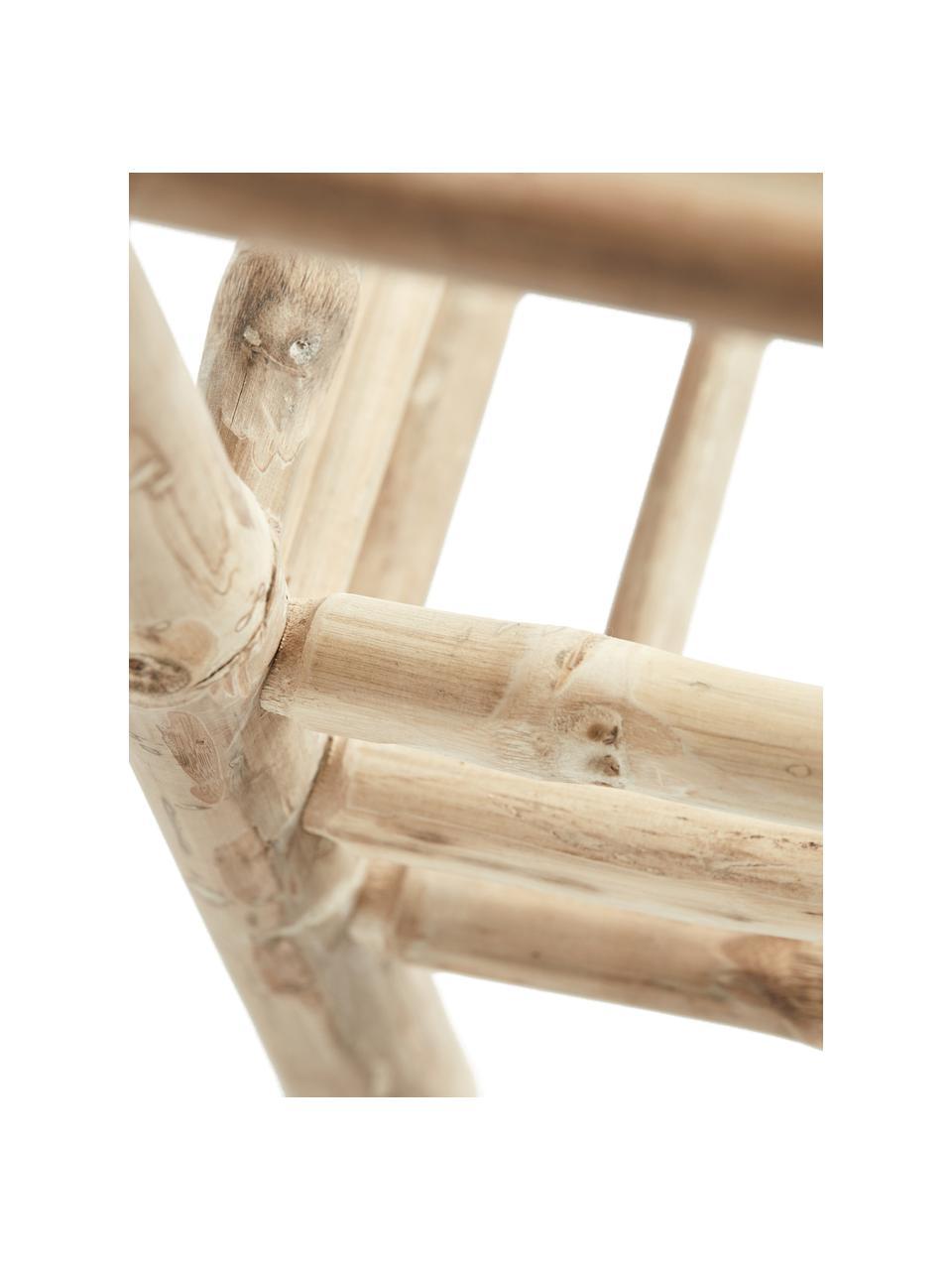 Bambus-Standregal Bamra, Bambus, Hellbraun, 75 x 110 cm
