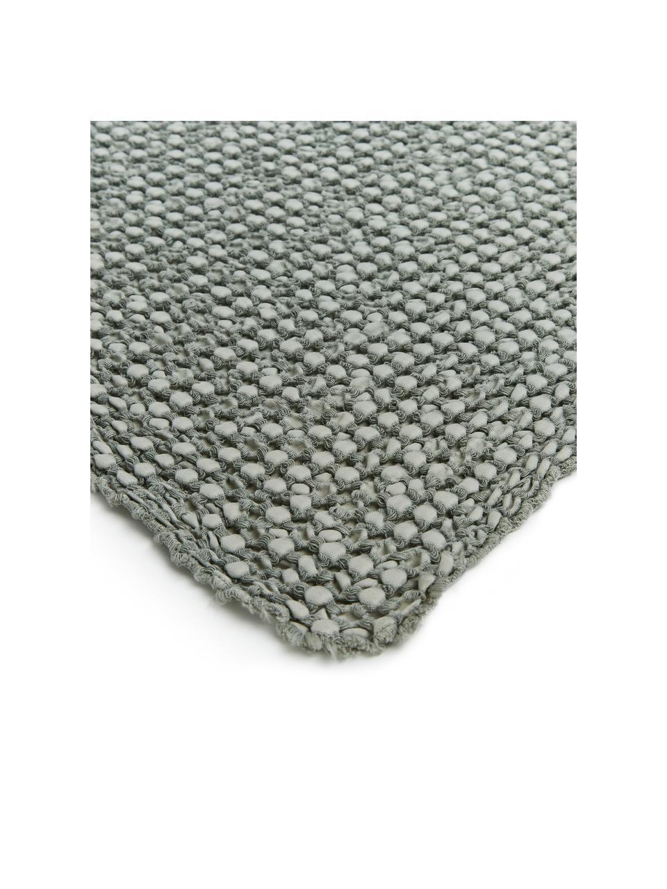 Couvre-lit à surface texturée Vigo, Vert bouteille