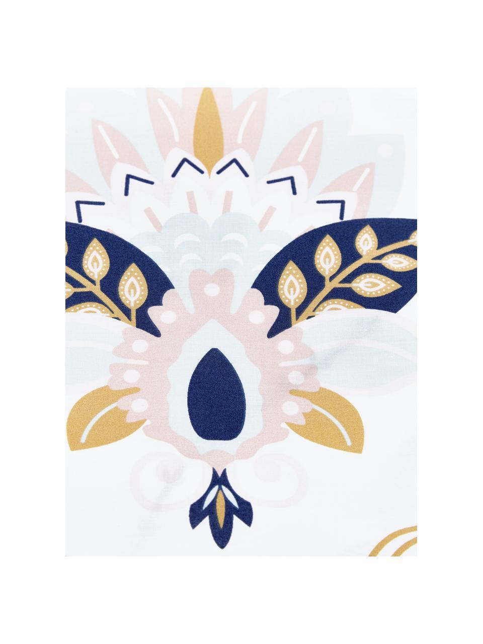 Baumwollperkal-Bettwäsche Pippa, Webart: Perkal Fadendichte 180 TC, Mehrfarbig, 135 x 200 cm + 1 Kissen 80 x 80 cm