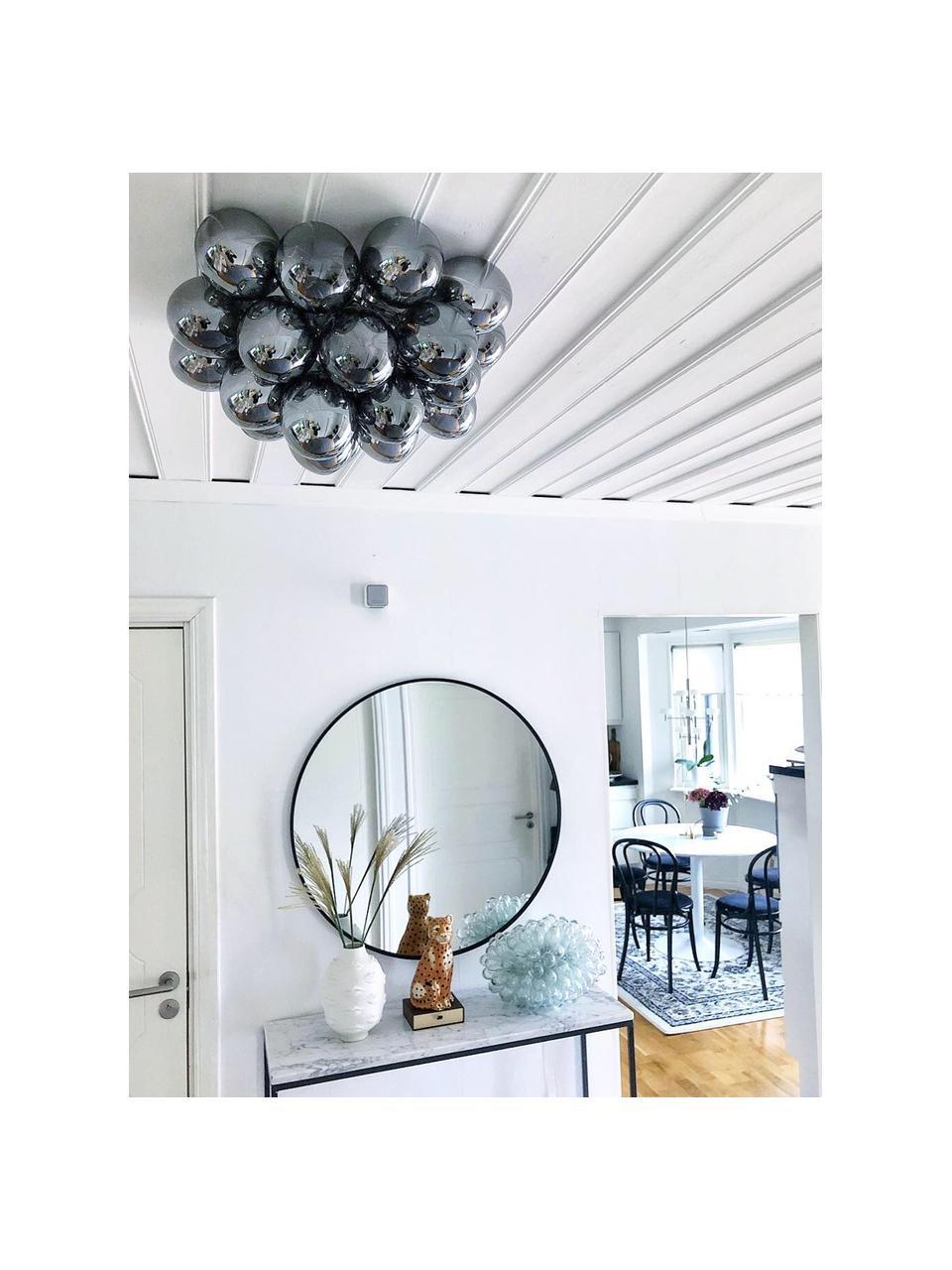 Lampa sufitowa ze szklanymi kulami Gross, Chrom, Ø 50 x W 27 cm