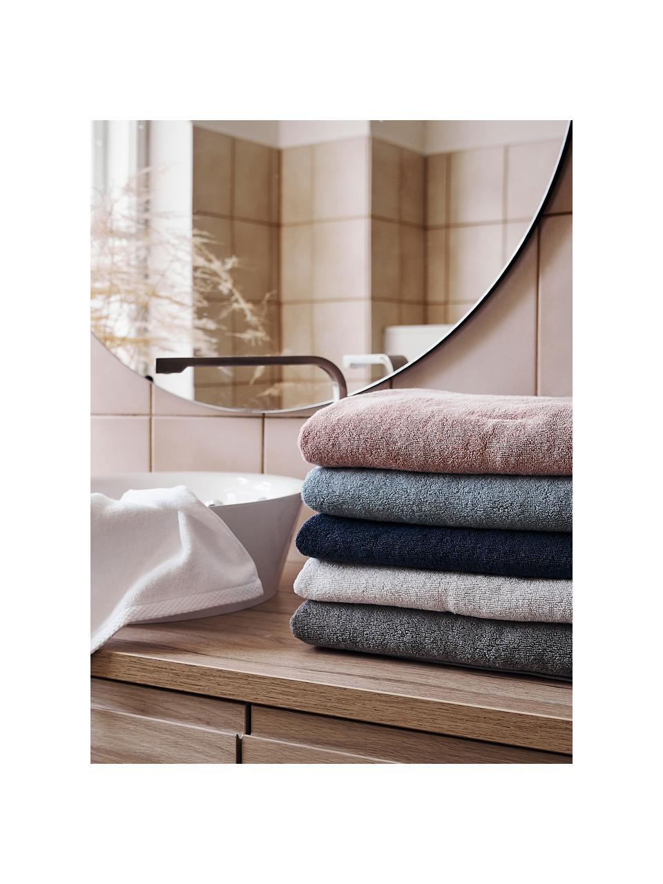 Komplet ręczników Comfort, 3 elem., Jasny niebieski, Komplet z różnymi rozmiarami