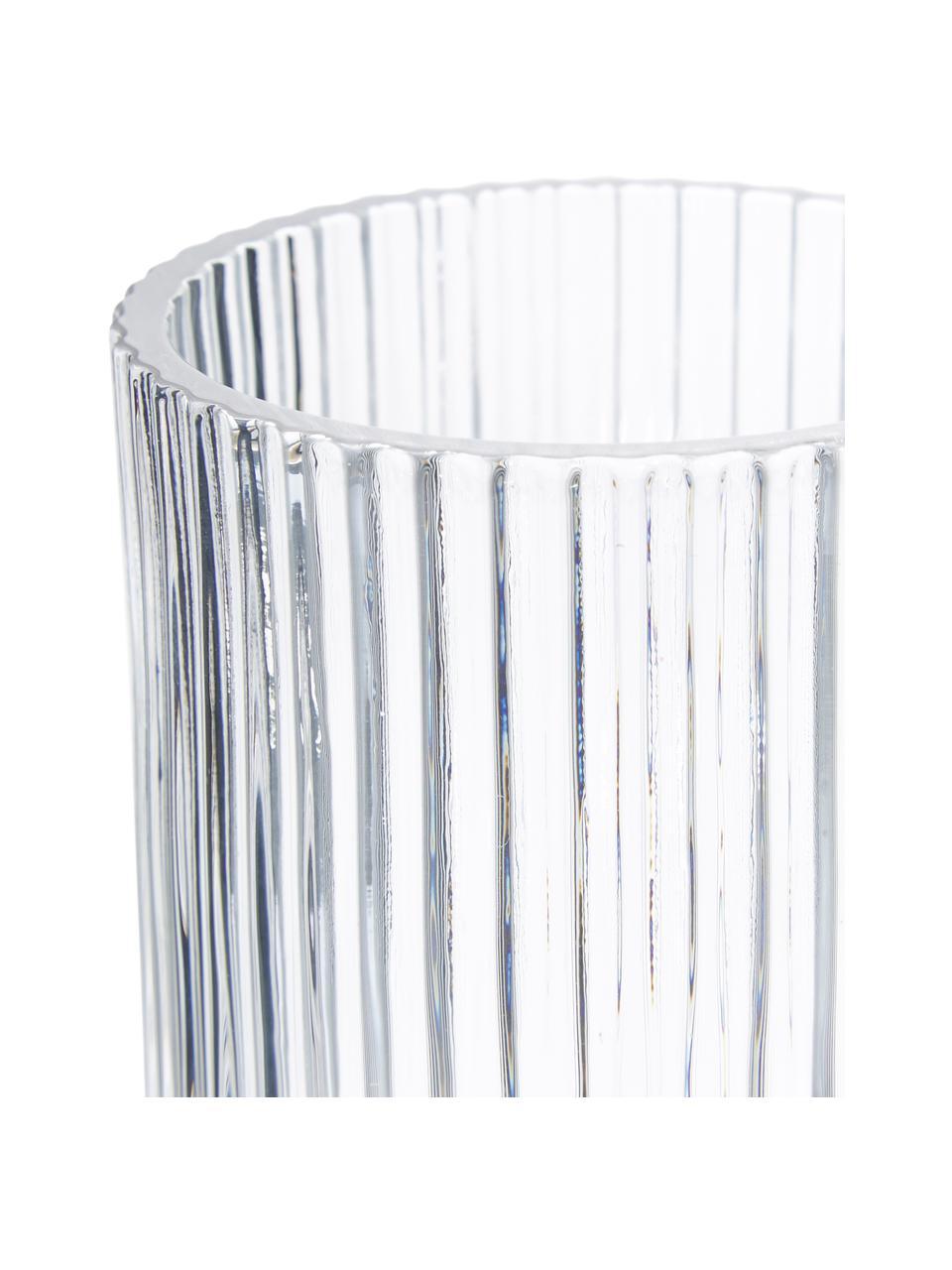 Glas-Zahnputzbecher Gulji, Glas, Transparent, Ø 7 x H 10 cm