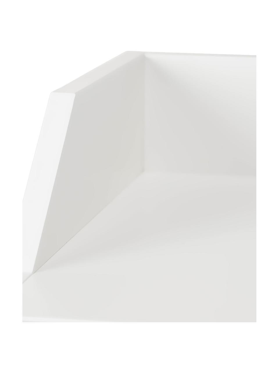 Aankleedcommode Harlequin, Gelakt grenenhout, Wit, 84 x 100 cm