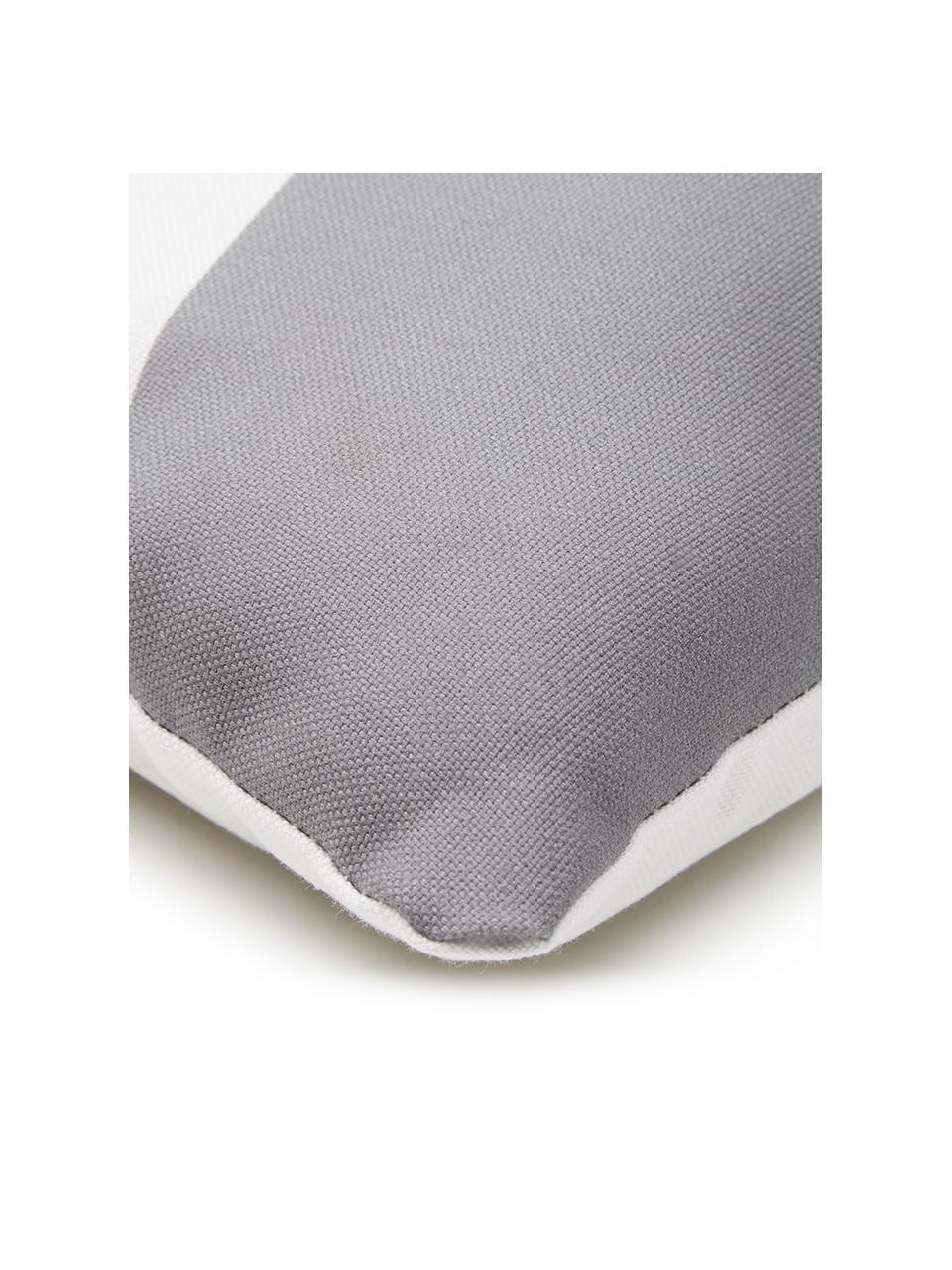 Housse de coussin 40x40 géométrique Linn, Blanc, multicolore