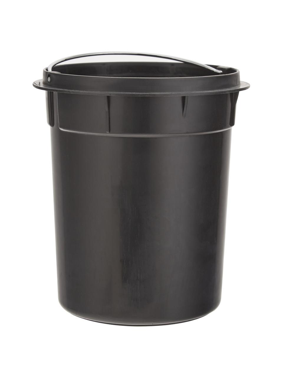 Kosz na śmieci Ella, Odcienie kremowego, Ø 17 x W 26 cm