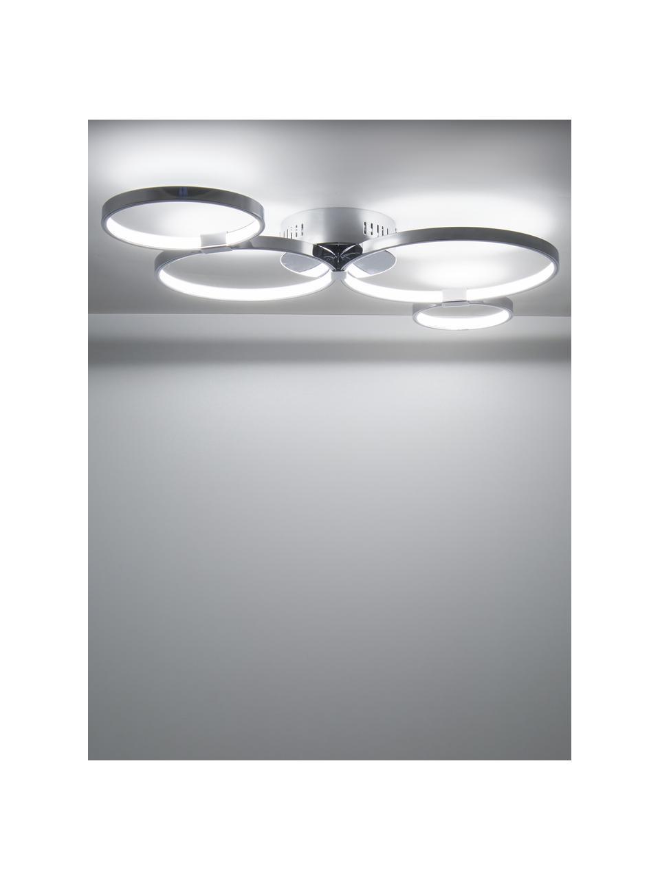 Lampa sufitowa LED Solexa, Chrom, S 75 x W 7 cm