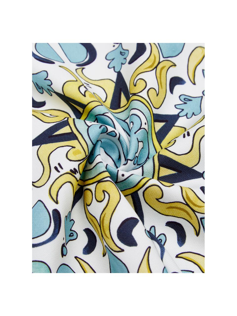 Set 2 federe arredo a fantasia Evora, 100% cotone, Multicolore, Larg. 40 x Lung. 40 cm
