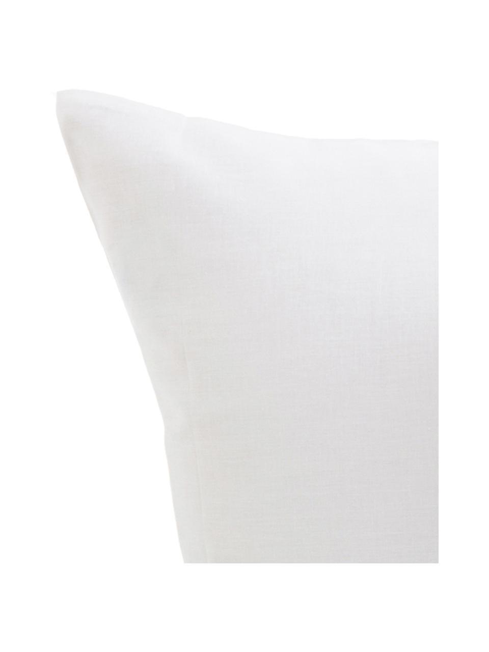 Parure copripiumino reversibile in cotone Trip, Cotone, Bianco, nero, 200 x 200 cm