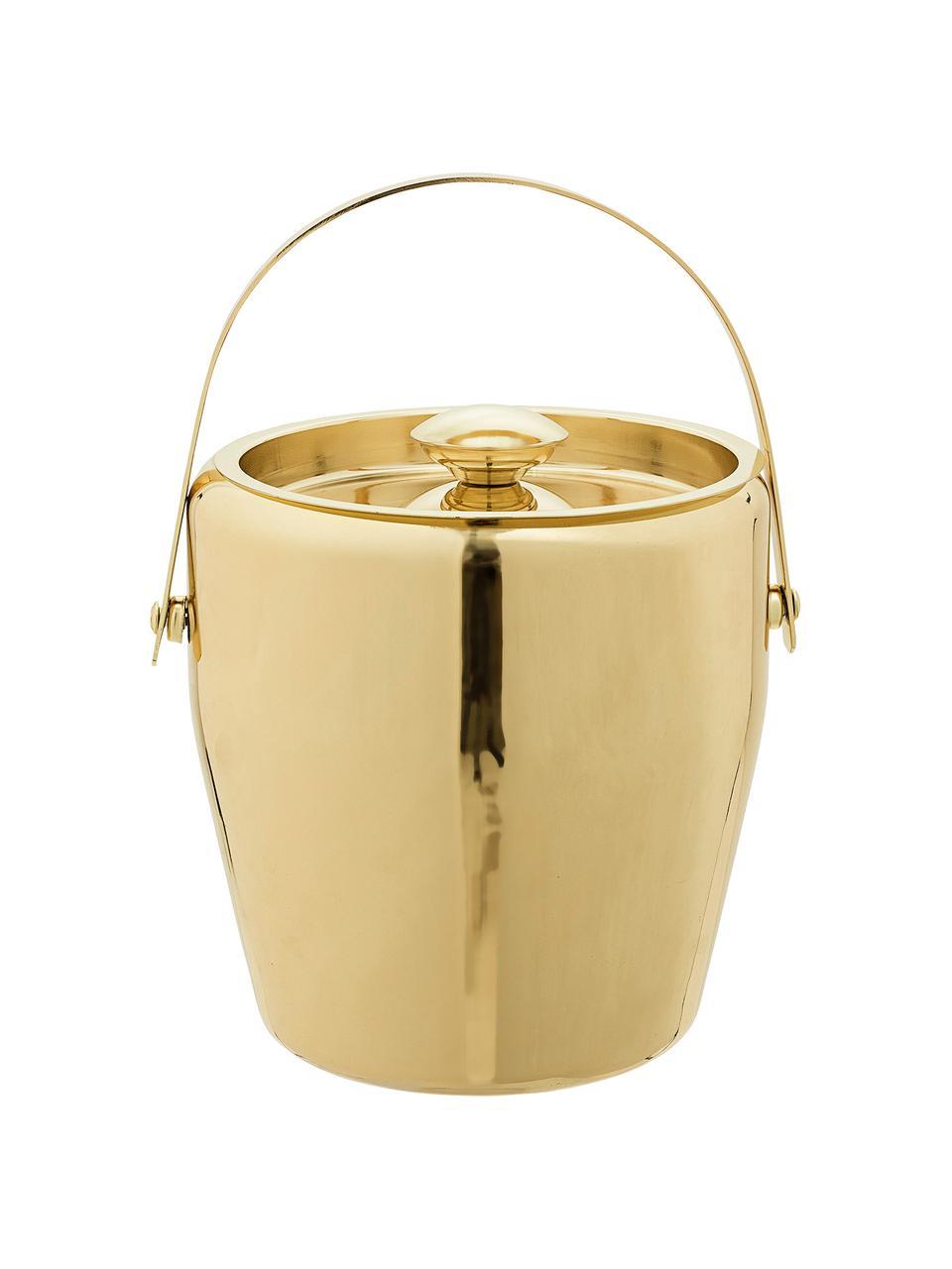 Wiaderko do lodu Royal, Stal szlachetna, Odcienie złotego, Ø 19 x W 20 cm