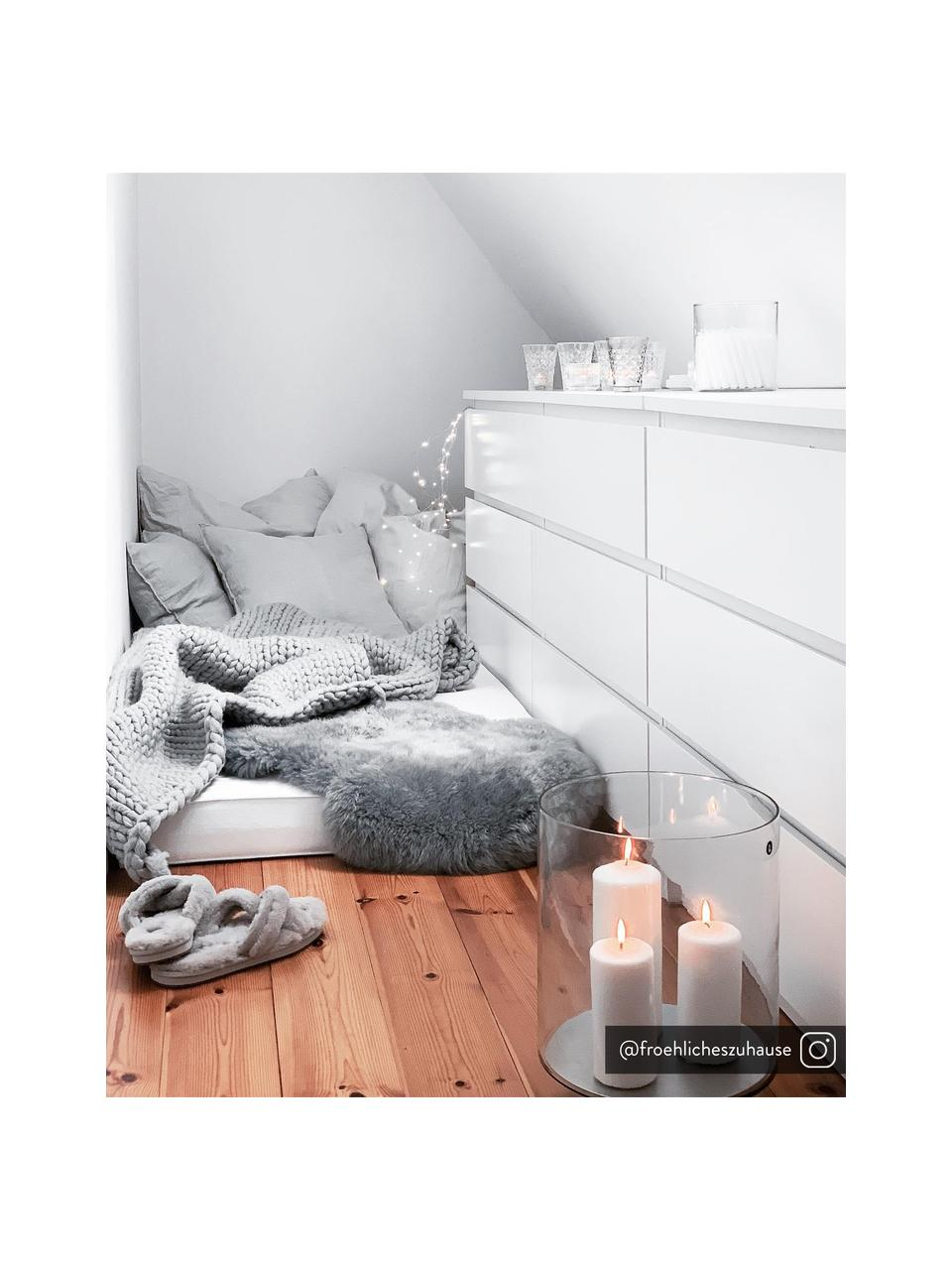 Skóra owcza Oslo, Jasny szary, S 60 x D 90 cm