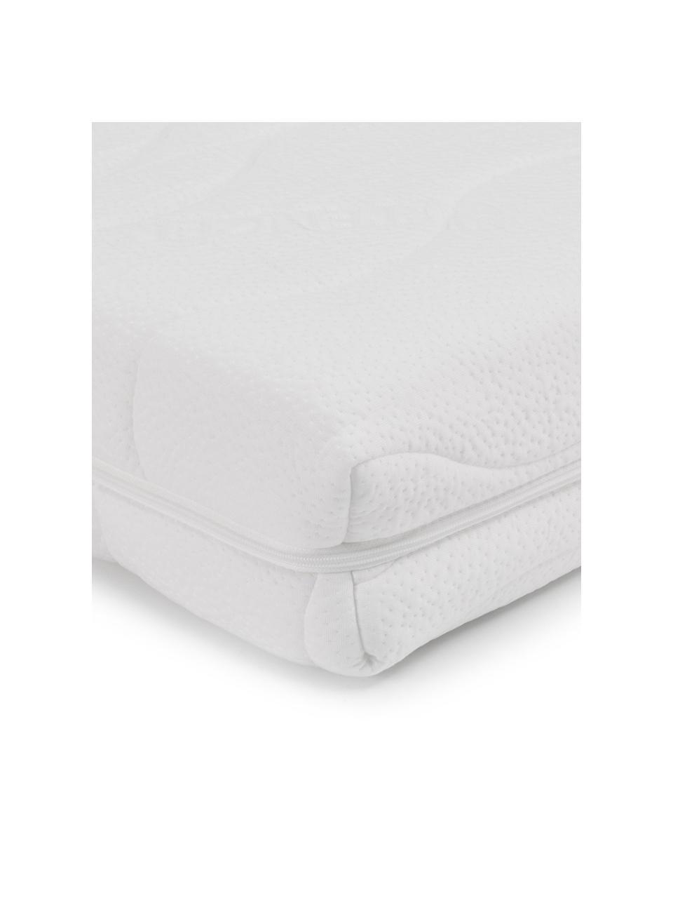 Materasso in schiuma fredda Vital, Rivestimento: doppia maglia TENCEL® (56, Rivestimento: circa 350 g/m² di fibra t, Bianco, 160 x 200 cm