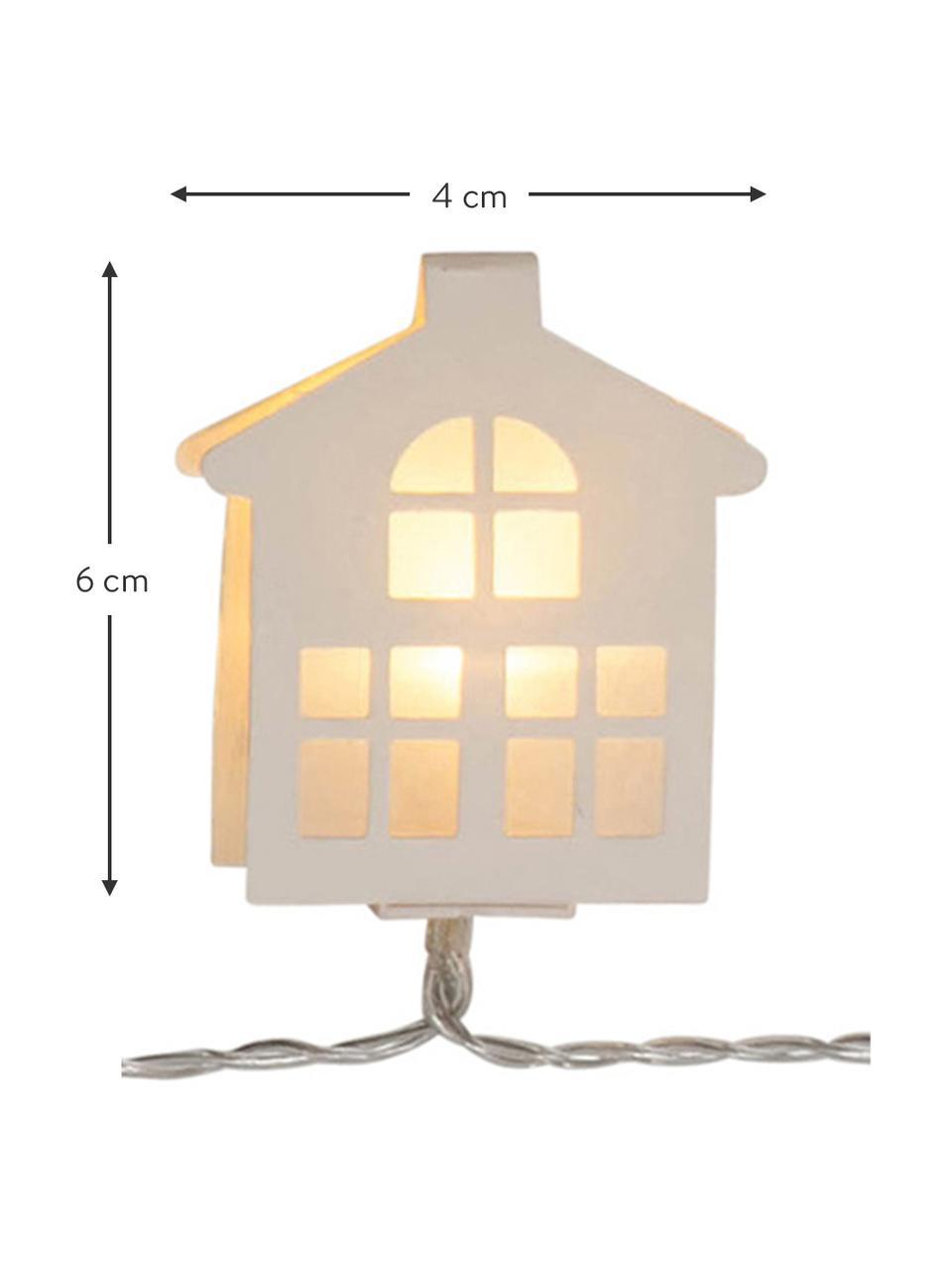 LED-Lichterkette Paperwork, L 225 cm, Weiß, L 225 cm