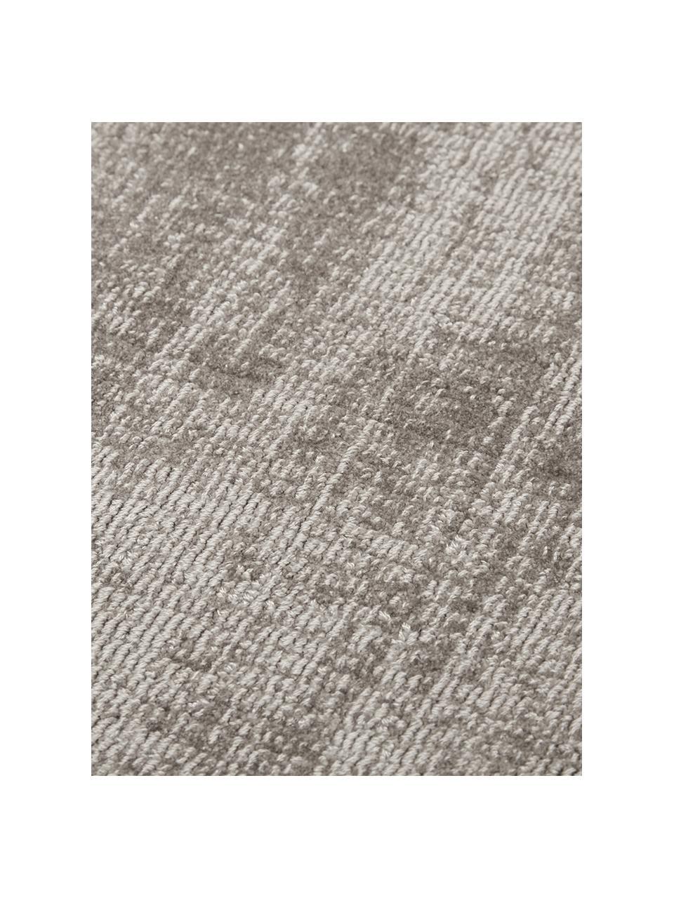 Ręcznie tkany dywan z wiskozy Jane, Taupe, S 120 x D 180 cm (Rozmiar S)