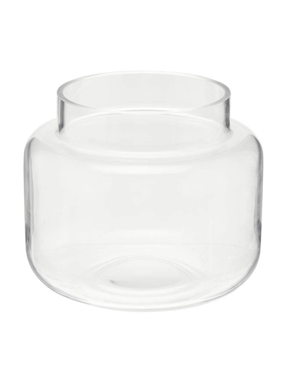 Vaso basso in vetro Lasse, Vetro, Trasparente, Ø 16 x Alt. 14 cm