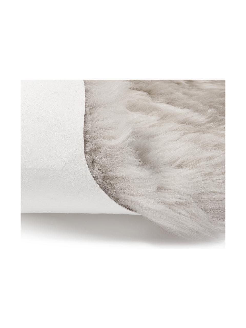 Dywan ze skóry owczej Oslo, gładki, Beżowy, S 60 x D 180 cm