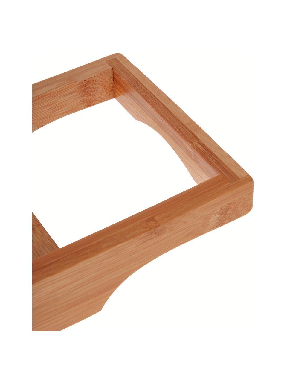 Półka do wanny z drewna bambusowego Bambel, Bambus, Brązowy, S 70 x W 5 cm